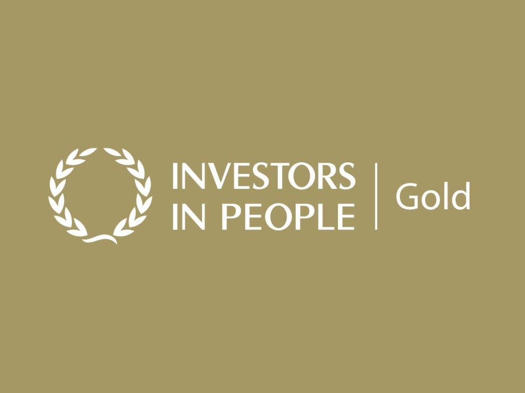 Investors in People - 2020 GOLD AWARD