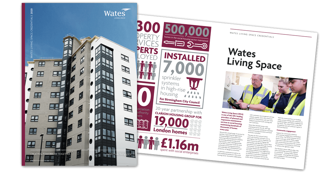 Wates Living Space Credentials