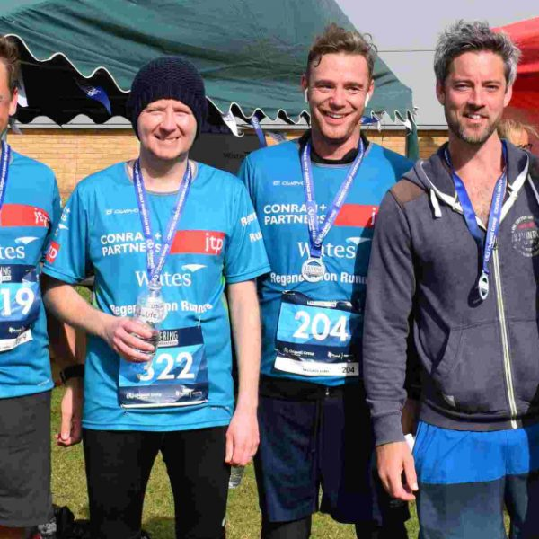 Wates Residential team takes on Havering Half Marathon