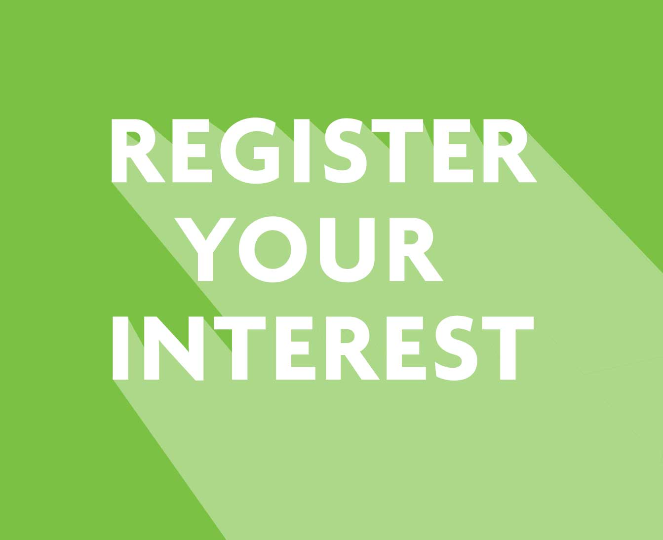 Register your interest in joining us