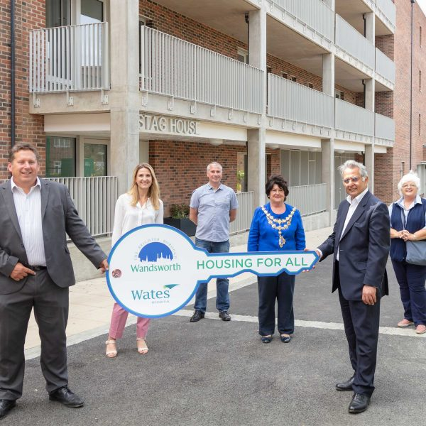 Wates Residential celebrates completion of Stag House development