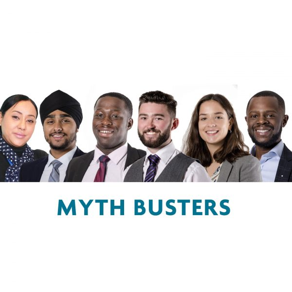 MYTHBUSTERS - what it's really like to work in the built environment