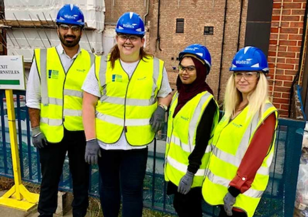 Wates apprenticeships and trainees