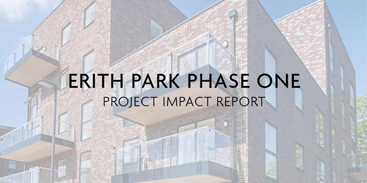 ERITH PARK PROGRESS REPORT