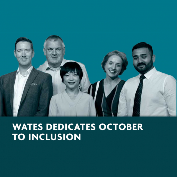 Wates dedicates month of October to inclusion