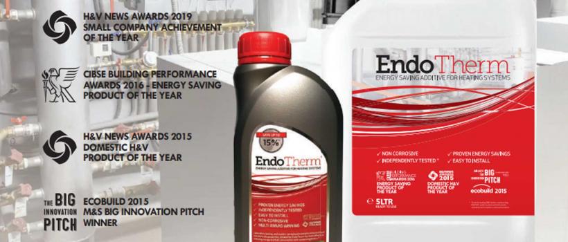 EndoTherm - A unique multi-award-winning energy saving additive.