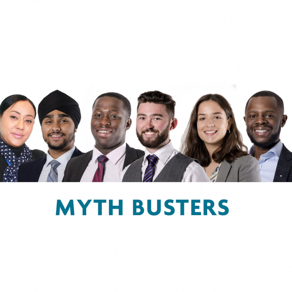 MYTHBUSTERS - WHAT'S IT REALLY LIKE TO WORK IN THE BUILT ENVIRONMENT