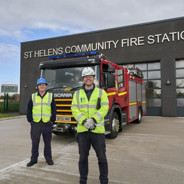 CASE STUDY: St Helen's community fire station