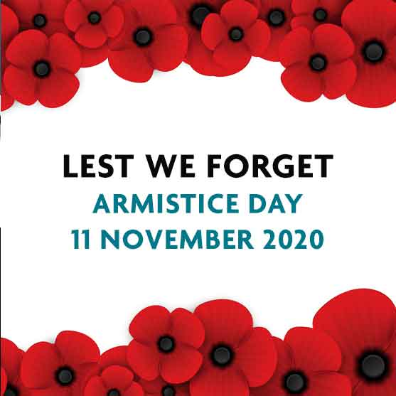 Armistice Day - Lest we forget