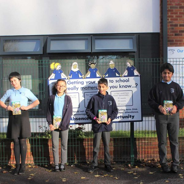 Harrow pupils to receive new children's book promoting careers in the construction industry