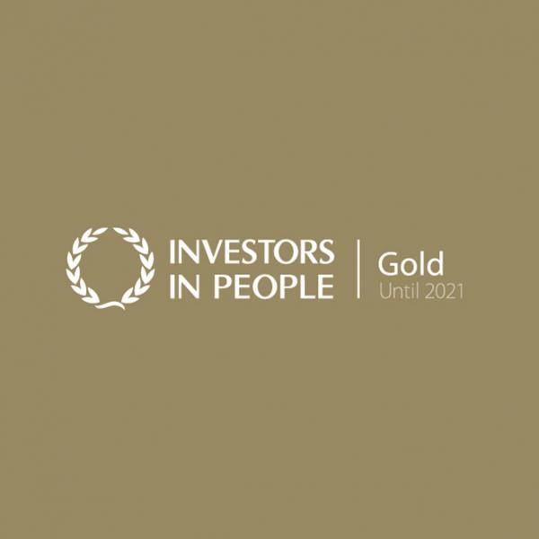 Investors in People - 2021 GOLD AWARD