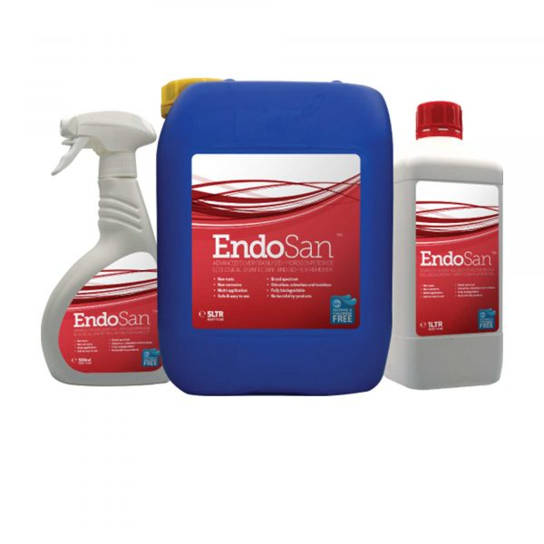 EndoSan -  Silver Stabilised Hydrogen Peroxide Disinfectant.
