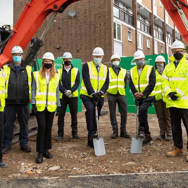 Work starts on new homes at Kersfield Road, East Putney