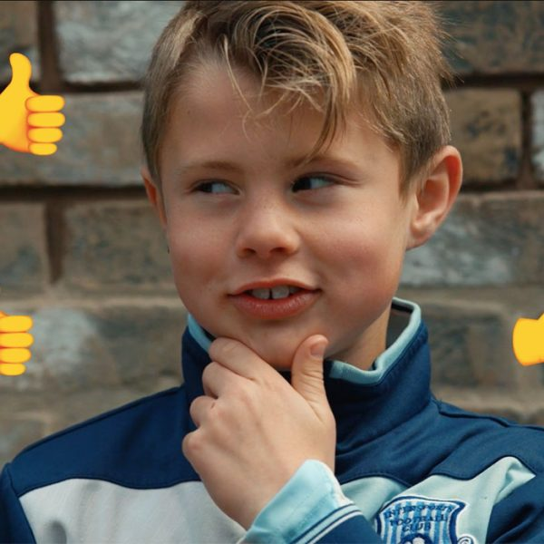 Barking pupils give a 'thumbs up' to new road safety video