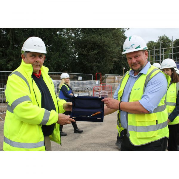 Bricks laid as 61 new homes for council rent are on track for completion