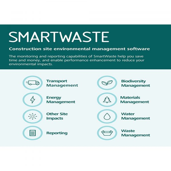 SmartWaste - A cloud based environmental and sustainability data capture and reporting software solution.