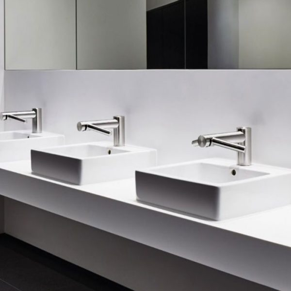 Dyson Wash+Dry Tap Hand Dryer - Wash and dry your hands at the sink - Hygienically and Sustainably