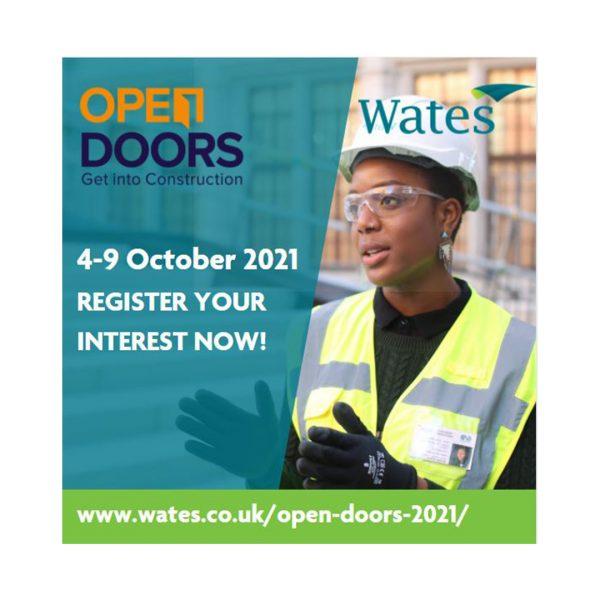 Open Doors Week: 4-9 October 2021
