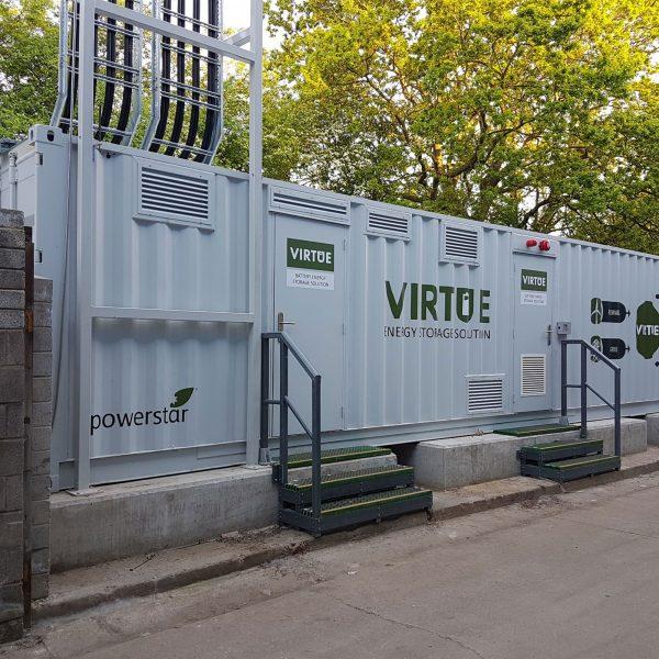 Powerstar VIRTUE -Battery energy storage solution provides full power resilience in a net zero world