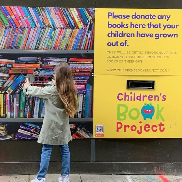 Wates tackles book inequality for children