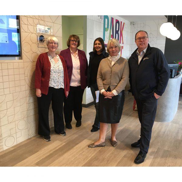 Council Leader visits Erith regeneration scheme